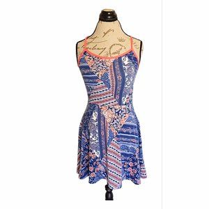 French Atmosphere Dress Spring Colorful